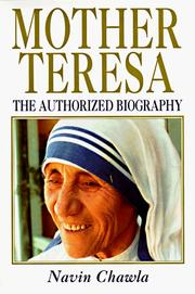 Mother Teresa by Navin Chawla