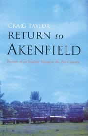 Return to Akenfield by Craig Taylor