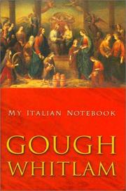 My Italian Notebook Gough Whitlam