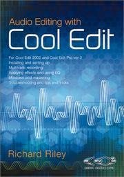 Audio Editing with Cool Edit PDF
