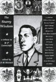 Cover of: The Starry Wisdom  by