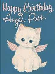 Angel Puss. 6 cards, individually bagged with envelopes