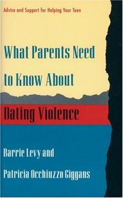 What parents need to know about dating violence PDF