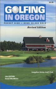Golfing in Oregon PDF