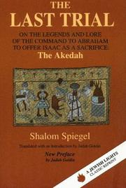 Me-agadot ha-aedah by Shalom Spiegel