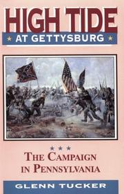 High Tide at Gettysburg by Glenn Tucker