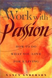 Work with passion by Nancy Anderson