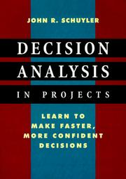 Decision analysis in projects