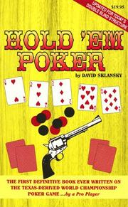 Hold 'Em Poker by David Sklansky