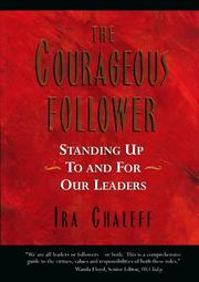 Cover of: The courageous follower by Ira Chaleff