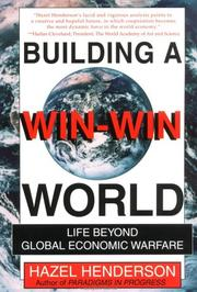 Building a win-win world by Hazel Henderson