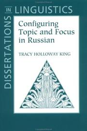 Configuring topic and focus in Russian PDF