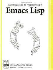 An Introduction to Programming in Emacs Lisp by Robert J. Chassell