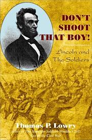 Dont shoot that boy!