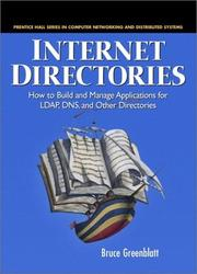 Internet Directories by Bruce Greenblatt