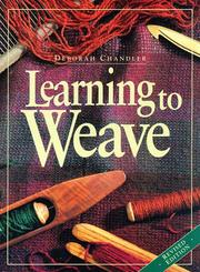 Learning to weave PDF