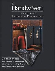 Handwoven Index & Resource Guide PDF