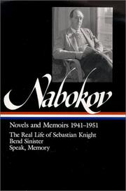 Novels and memoirs, 1941-1951 by Vladimir Nabokov