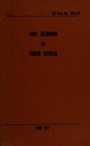Area handbook for North Vietnam.