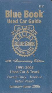 Kelley Blue Book Used Car Guide PDF