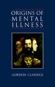 Origins of mental illness PDF