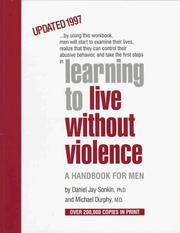Learning to live without violence by Daniel Jay Sonkin