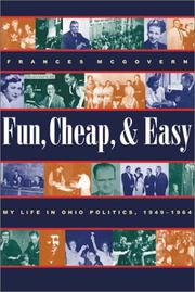 Fun, Cheap, and Easy by Frances McGovern