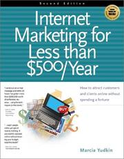 Internet marketing for less than $500/year by Marcia Yudkin