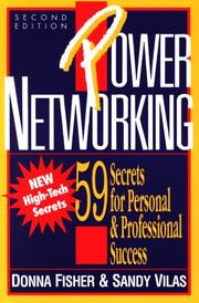 Power Networking by Donna Fisher