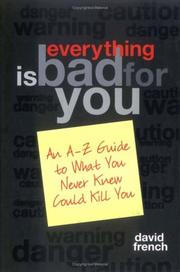 Everything is bad for you! PDF