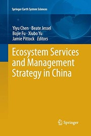 Ecosystem Services and Management Strategy in China