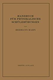 Handbuch für Physikalische Schülerübungen