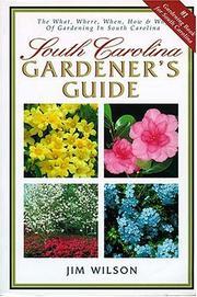 South Carolina gardener's guide PDF