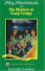 Meg Mackintosh and the mystery at Camp Creepy PDF