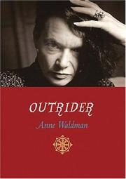 Outrider by Anne Waldman