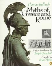 Cover of: Myths of Greece and Rome by Thomas Bulfinch