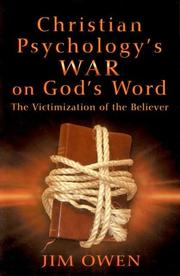 Christian psychology's war on God's word by Jim Owen