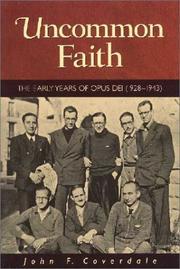 Uncommon Faith PDF