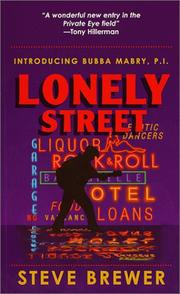 Lonely Street (First in the Bubba Mabry P.I. Mystery Series) PDF