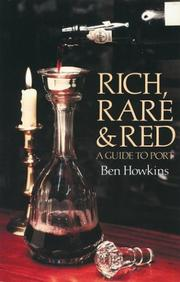 Rich Rare and Red by Ben Howkins