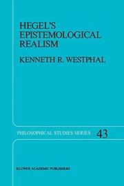 Hegels Epistemological Realism