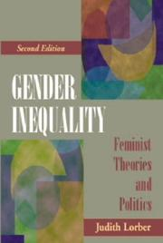 Gender inequality by Judith Lorber