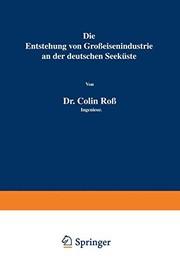 Die Entstehung von Großeisenindustrie an der deutschen Seeküste