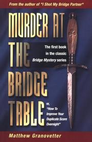 Murder at the Bridge Table PDF
