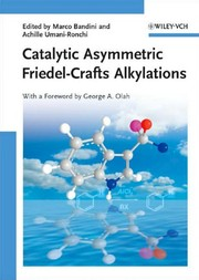 Catalytic asymmetric Friedel-Crafts alkylations