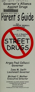 A parents guide to street drugs to prevent use by our children