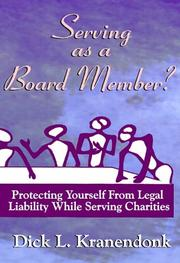Serving as a Board Member? Protecting Yourself From Legal Liability While Serving Charities PDF