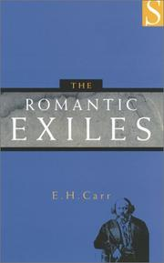 The romantic exiles by Carr, Edward Hallett
