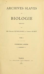 Archives slaves de biologie