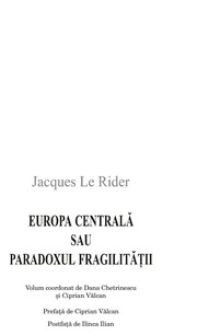 Europa Centralasau Paradoxul fragilita t ʹii